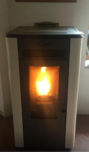 Calentador interiores de biomasa
